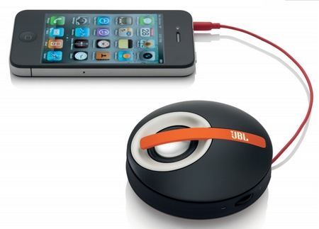 JBL On Tour Micro Orange акустическая система для iPhone/iPod/iPad купить цена москва
