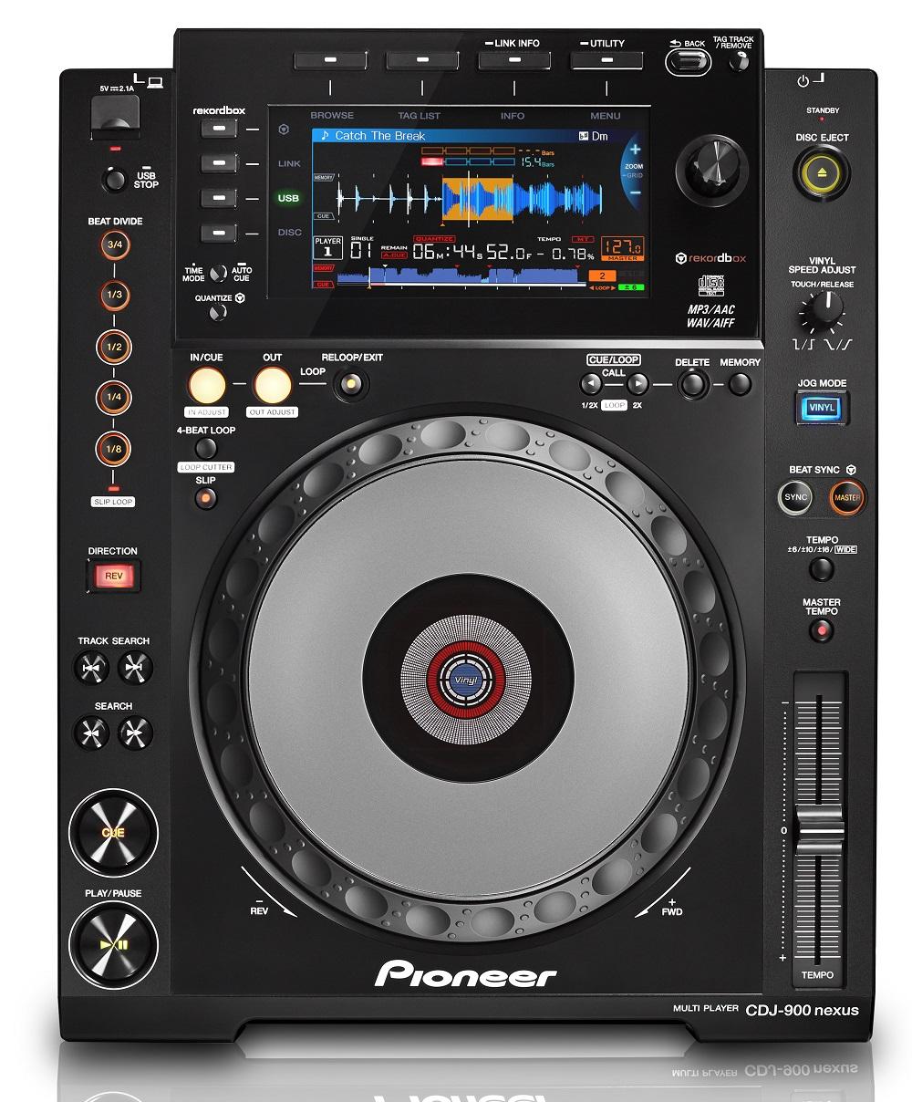 NexusПроигрыватели для DJ<br>Проигрыватель DJ CD<br>