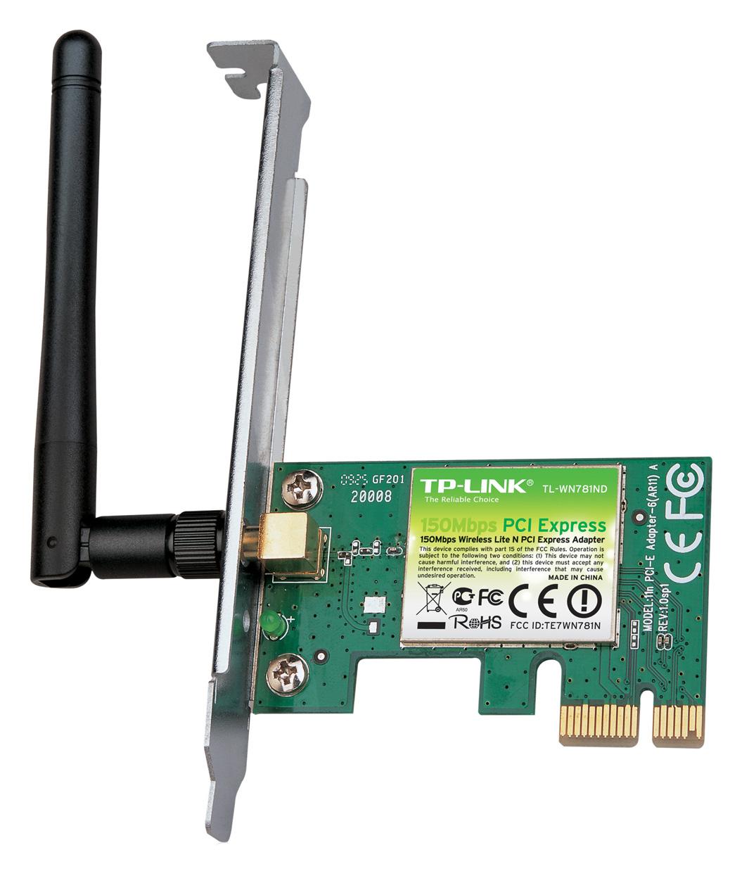 Купить TP-Link TL-WN781ND - Wi-Fi адаптер (Black)