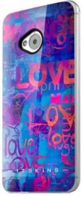 Купить Itskins Phantom (its_HTON-PHANT-BLUE) - чехол-накладка для HTC One M7 (Love Love)