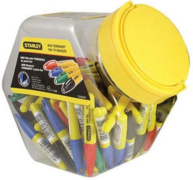 Stanley 1-47-329 - маркеры MINI разных цветов (72 шт.)