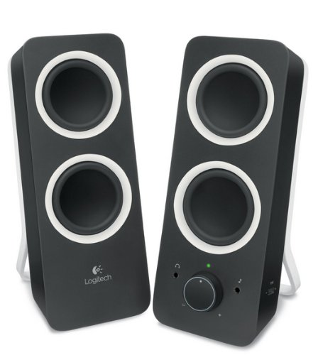 Logitech Multimedia Speakers Z200 (980-000810) - акустическая система (Black)
