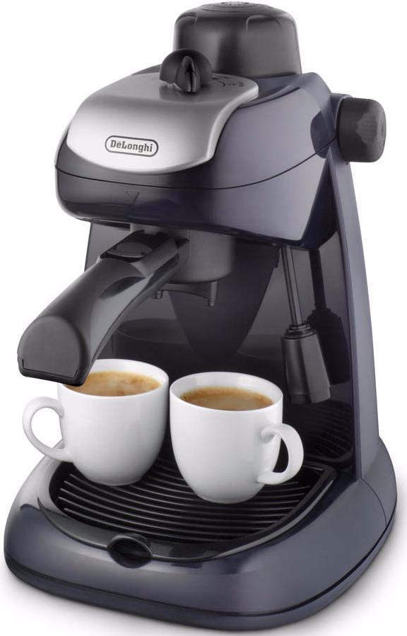Delonghi EC 7 - рожковая кофеварка (Black)Рожковые кофеварки эспрессо<br>Рожковая кофеварка<br>