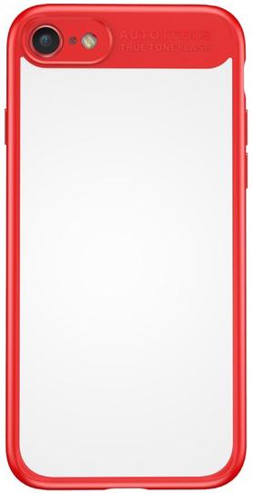 Baseus Mirror Case (WIAPIPH7-MJ09) - чехол для iPhone 7 (Red)