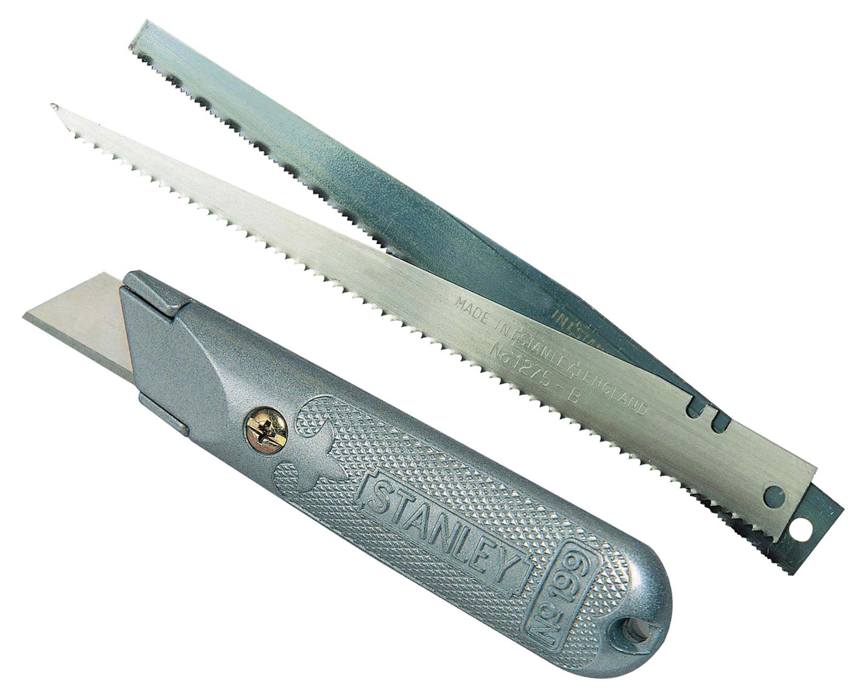 Stanley 0-10-129 - нож со сменными лезвиями (Grey)