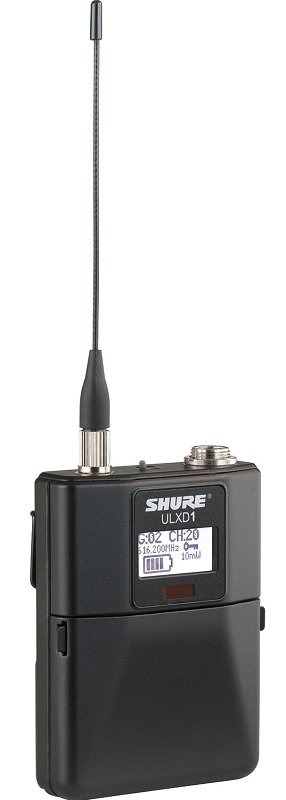 Shure Bodypack Transmitter ULXD1 K51 A042097