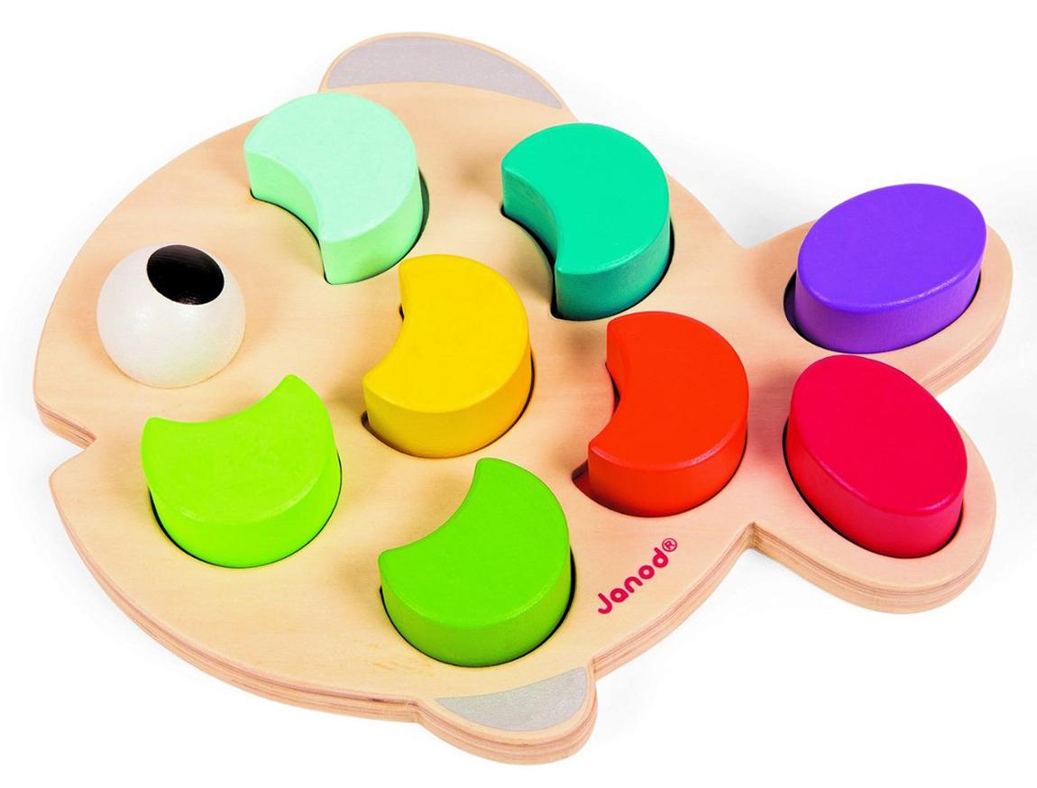 РыбкаРазвивающие игрушки<br>Игрушка-сортер<br>