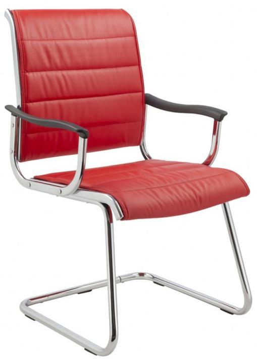 Бюрократ CH-994AV - кресло для посетителя (Red) от iCover