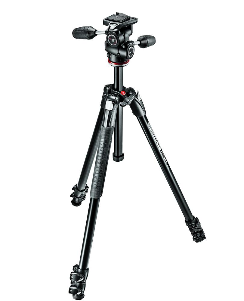 Manfrotto MK290XTA3-3W - штатив + 3D-головка для фотокамер