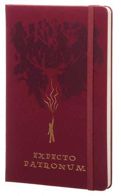 Moleskine Harry Potter Expecto Patronum (LEHPAQP060) - записная книжка в линейку (Purple)