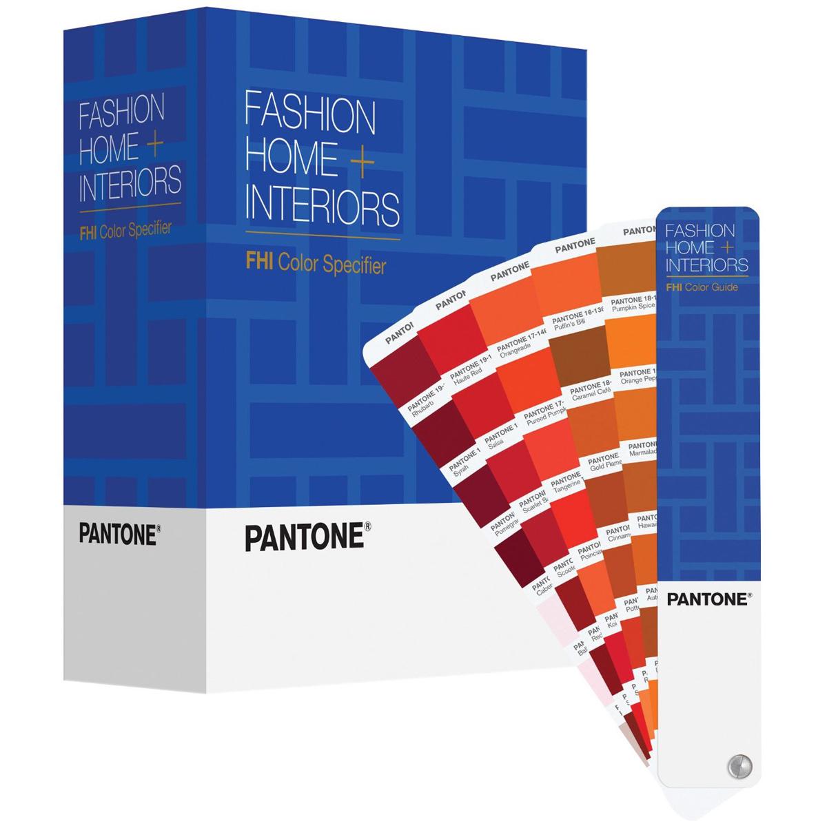Купить Pantone FHI Color Guide & Specifier (FPP200) - набор цветовых справочников