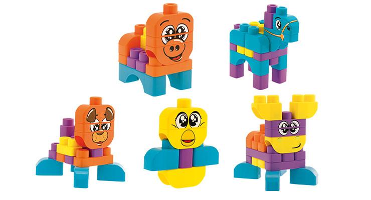 Chicco Животные (10CO1168) - набор строительных блоков