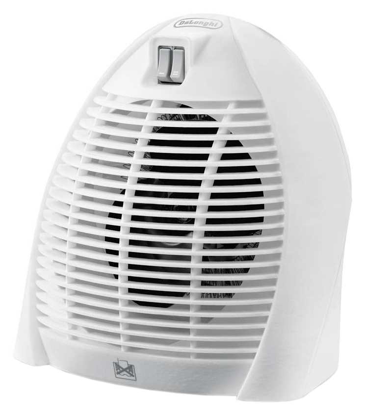DeLonghi HVK 1010 - настольный тепловентилятор (White)