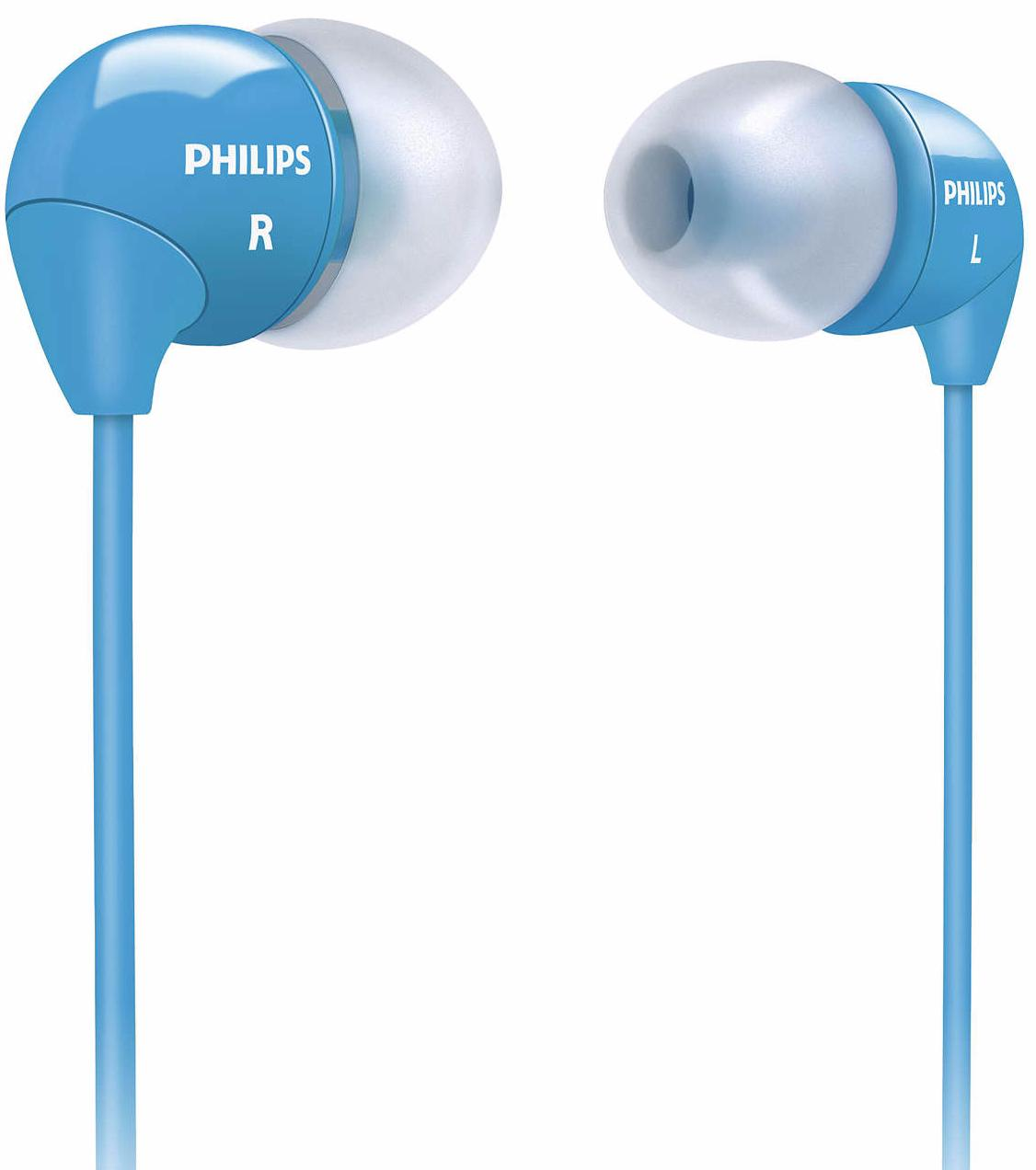 Philips SHE3590 - внутриканальные наушники (Blue)