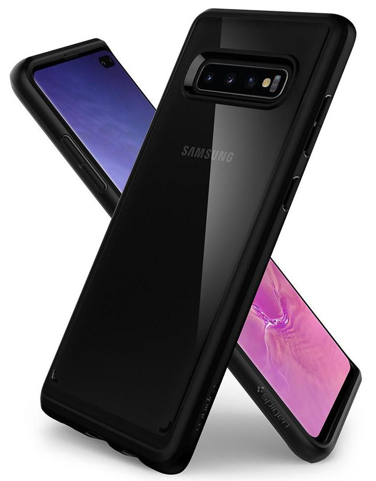 Чехол Spigen Ultra Hybrid (606CS25767) для Samsung Galaxy S10 Plus (Black)