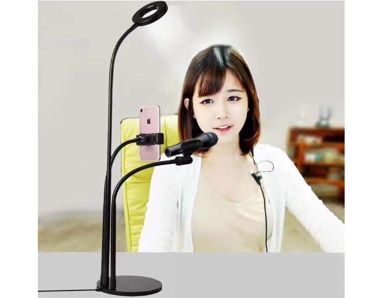 Купить настольная кольцевая светодиодная лампа Circle LED Lamp 9 ...