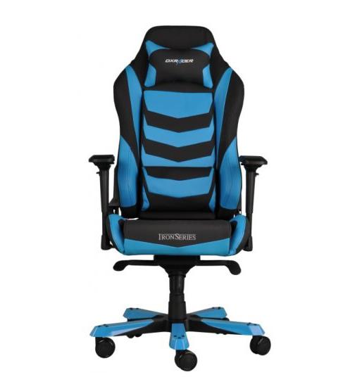 DXRacer OH/IS166/NB - компьютерное кресло (Black/Blue)