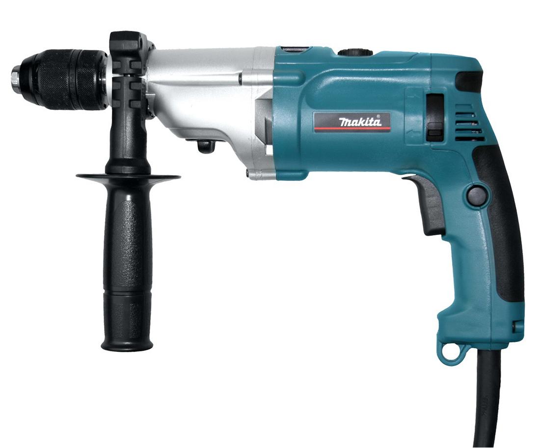 Makita HP2071 - ударная дрель (Blue)  дрель электрическая makita hp2050 ударная