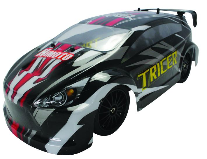 Himoto Tricer 4WD 1:18 - радиоуправляемый автомобиль (Black) E18OR