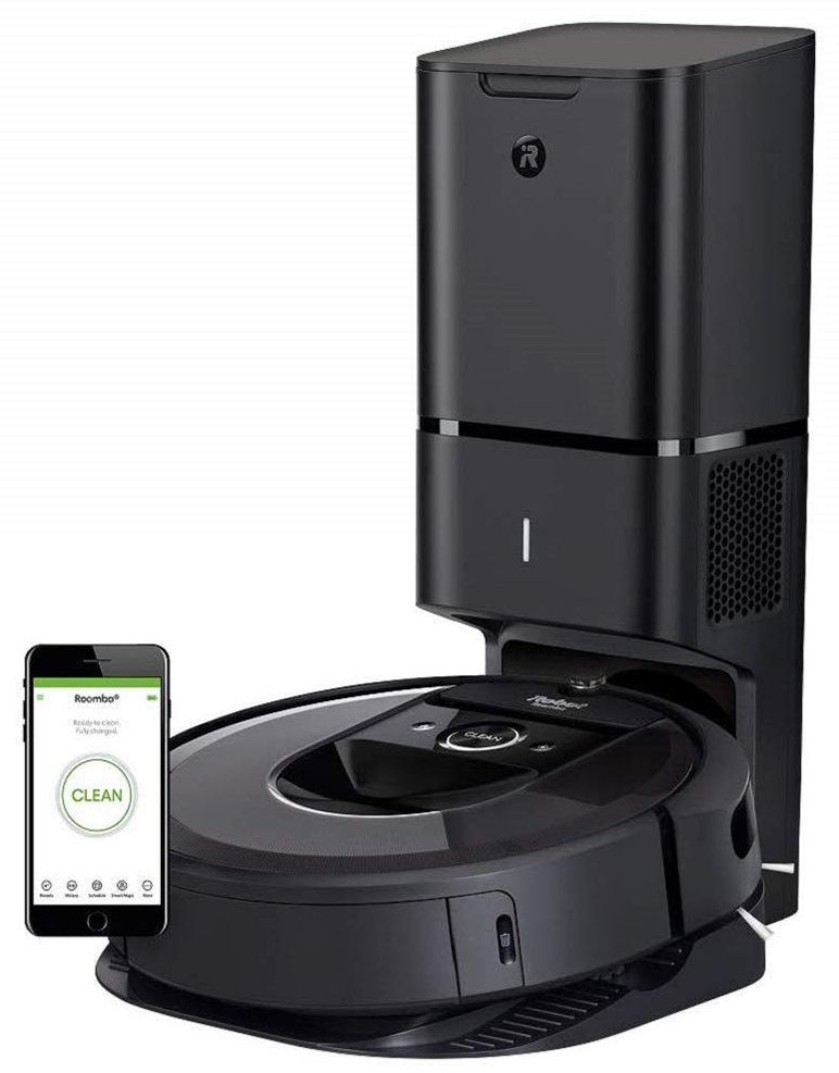 Робот-пылесос iRobot Roomba i7+ (Grey)