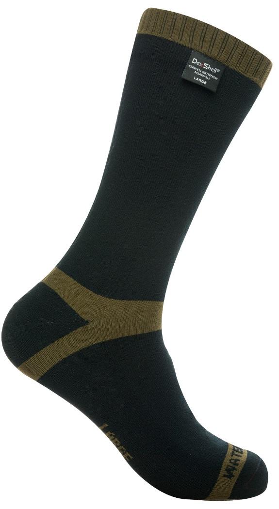 Купить Dexshell Trekking Green S (DS636S) - водонепроницаемые носки (Black/Green)