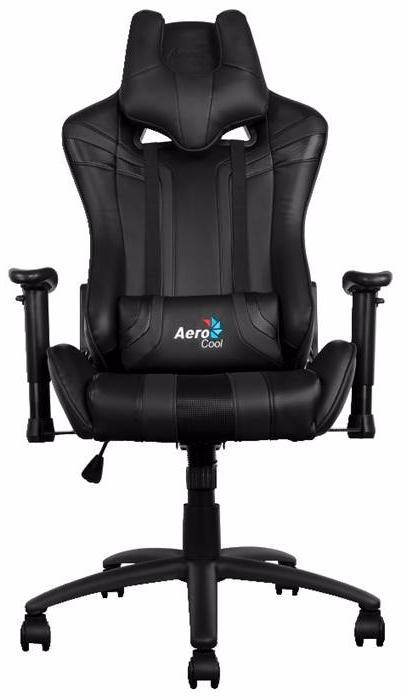 Aerocool AC220-B - игровое кресло (Black) arozzi torretta orange v2 игровое кресло