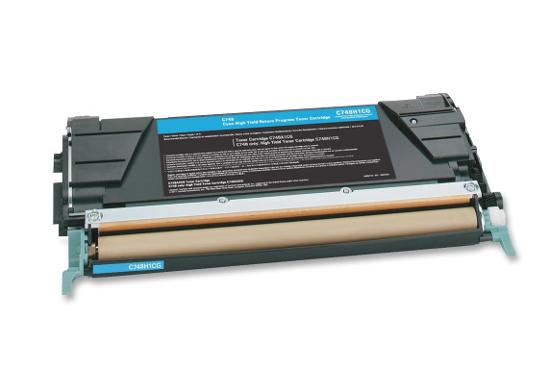 Lexmark 7K LRP C746A1CG - принт-картридж для Lexmark C746 и C748 (Blue) от iCover