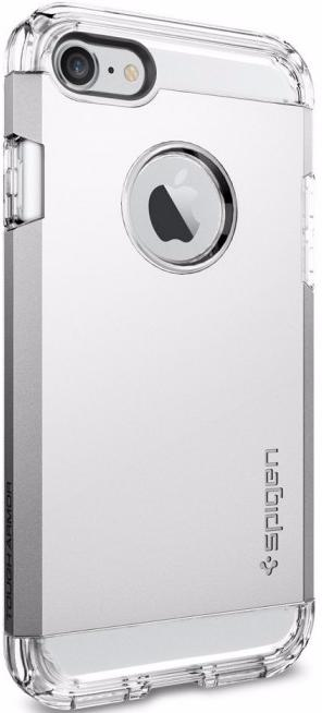 Spigen Tough Armor (042CS20672) - чехол для iPhone 7 (Silver) чехол накладка iphone 6 6s 4 7 lims sgp spigen стиль 8 580082