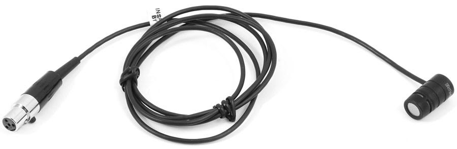 Shure WL184 - суперкардиоидный конденсаторный петличный микрофон (Black)
