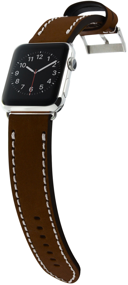 Сменный ремешок Cozistyle Leather Band (CLB012) для Apple Watch 42mm (Brown)