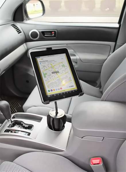RAM Mount Plastic Apple iPad Mount Cradle (RAP-299-2-AP8U) - автодержатель для iPad / iPad 2 от iCover