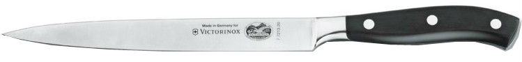 Victorinox 7.7213.20 - нож филейный, лезвие 20 см (Black)Кухонные ножи, ложки, вилки<br>Нож филейный<br>