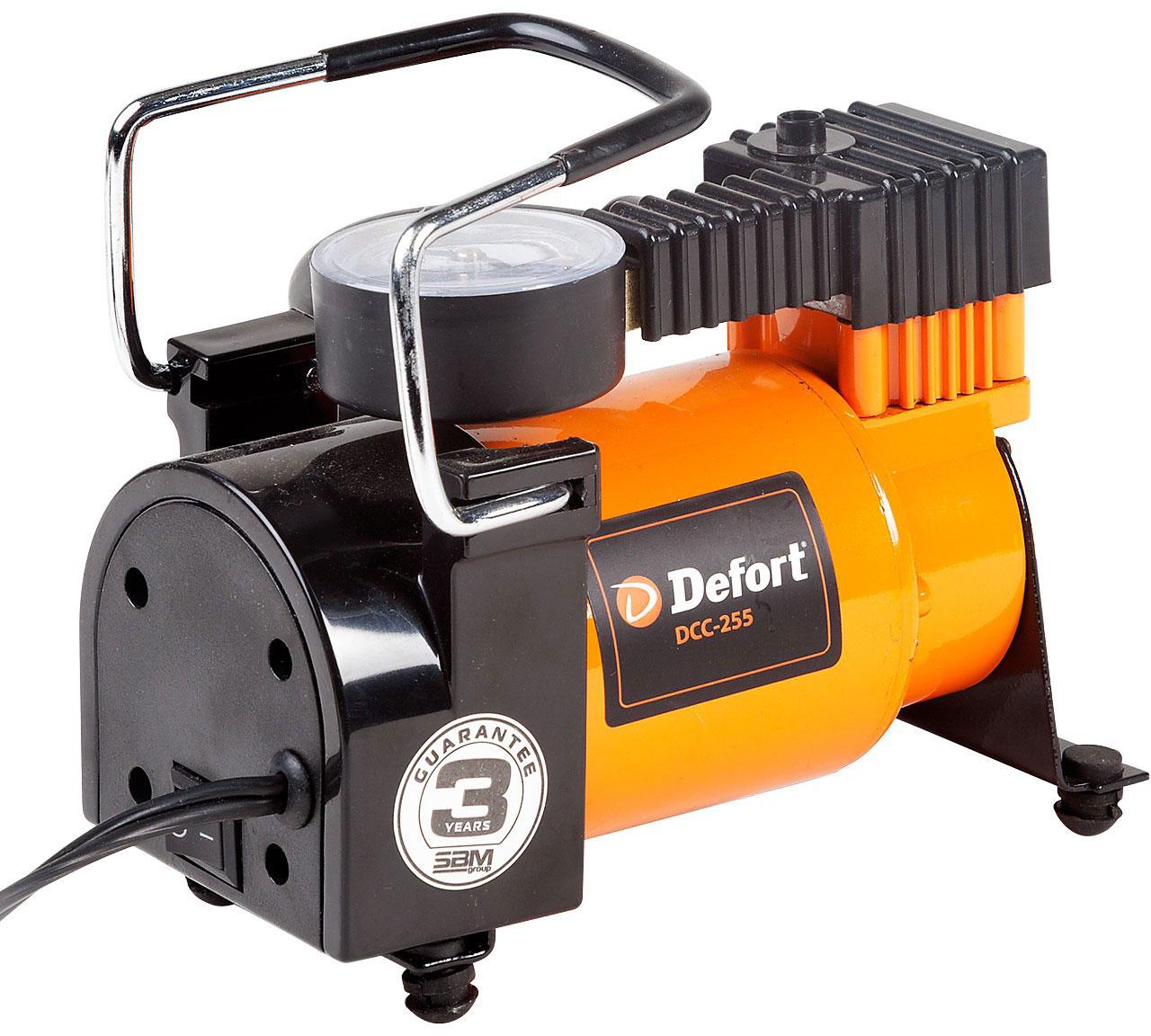 Defort DCC-255 (98299762) - автомобильный компрессор (Orange)