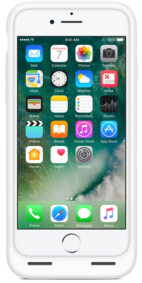 Apple Smart Battery Case iPhone 7/8 White