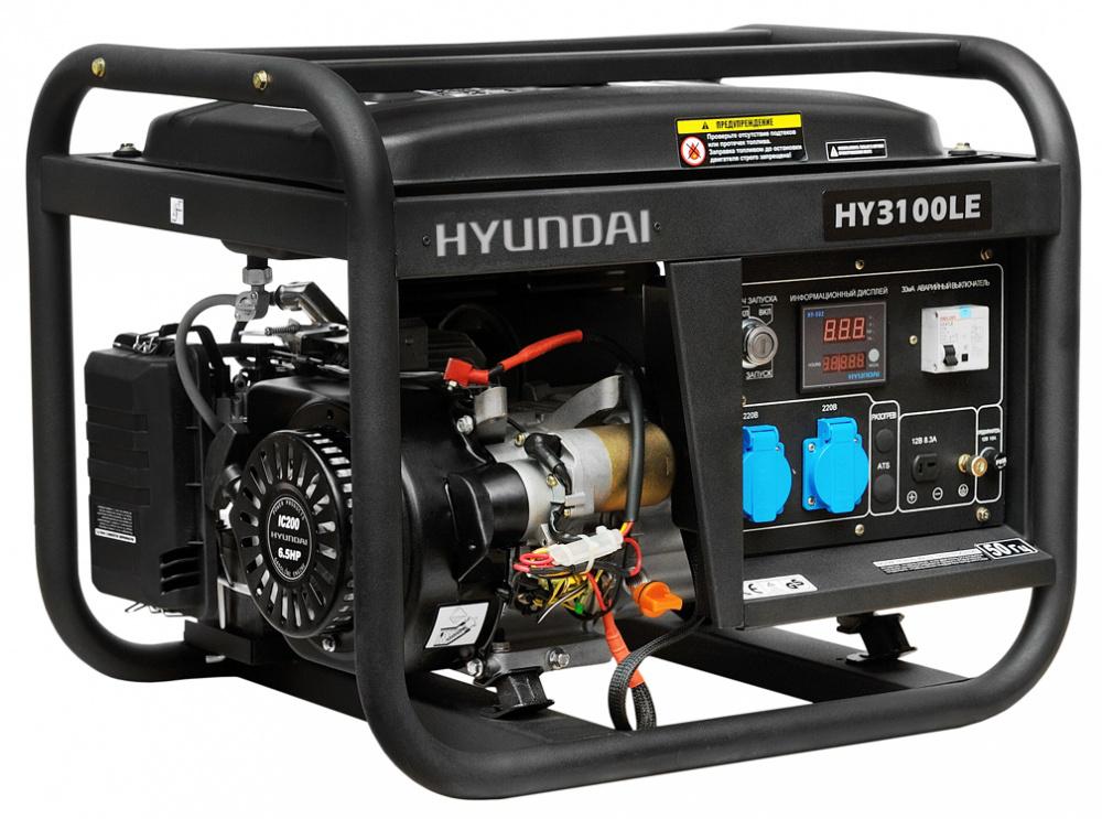 Hyundai HY 3100LE - бензиновый генератор (Black)