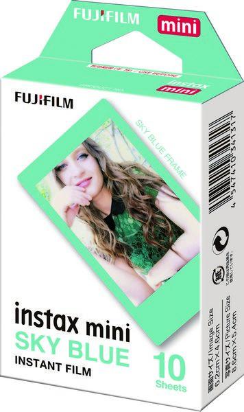 Fujifilm Instax Mini (inst_blue) - картридж для фотоаппарата (Sky Blue) instax