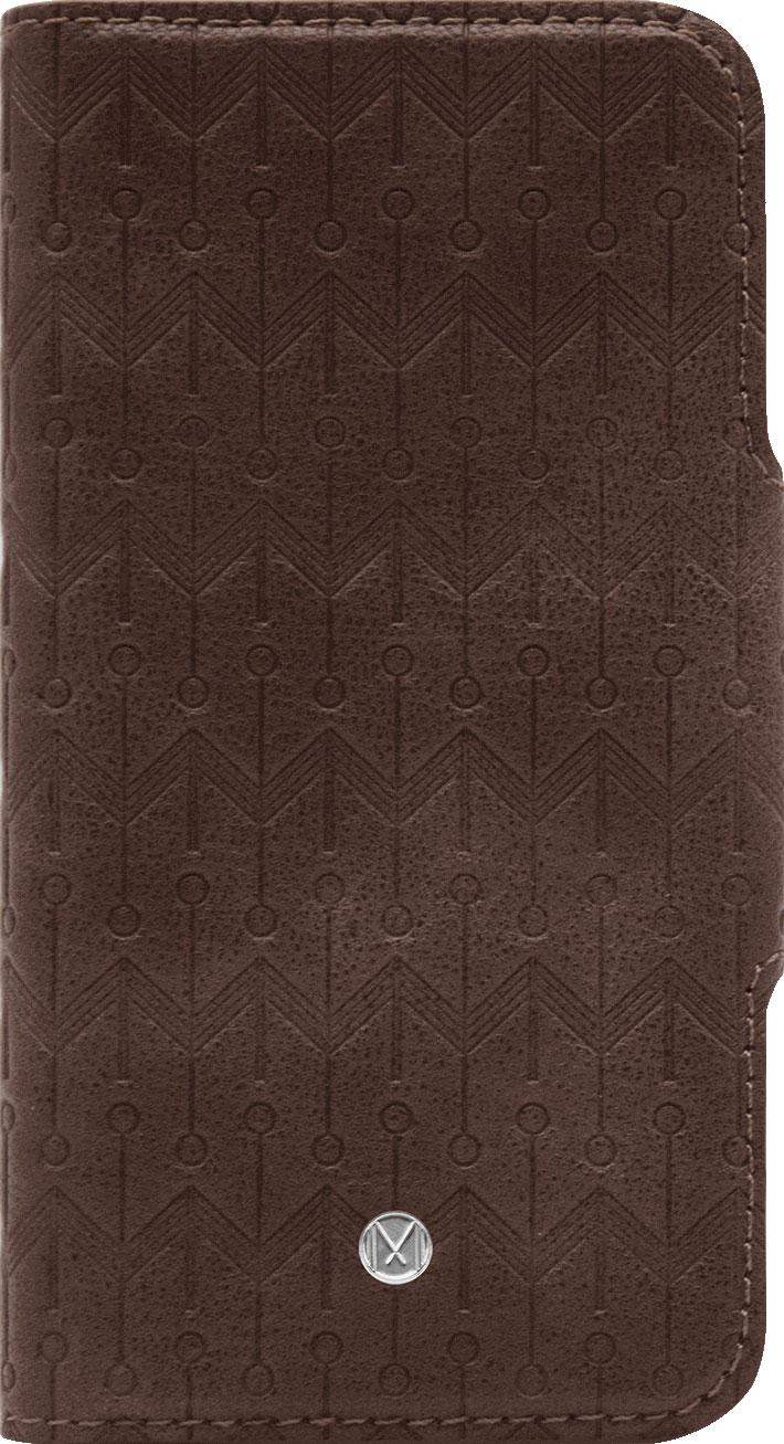 Чехол Marvelle N°307 для iPhone Xs Max (Walnut Dark Brown Signature)