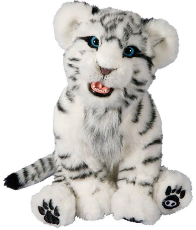 Alive Mini White Tiger Cub
