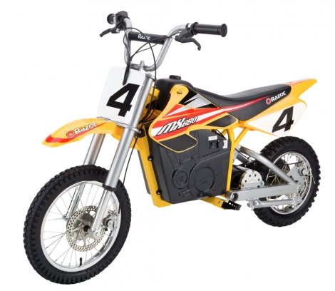 Razor MX650 (20608) - электро-минибайк (Yellow)