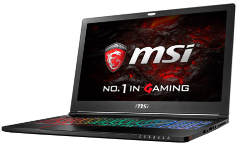 GS63VRИгровые ноутбуки<br>Ноутбук<br>
