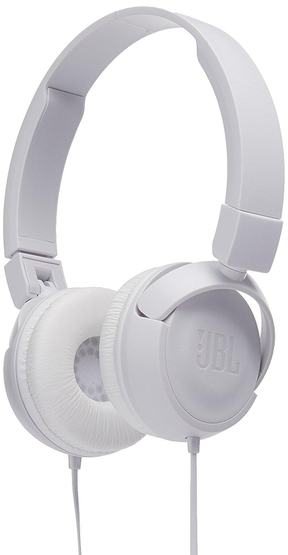JBL T450 (JBLT450WHT) - накладные наушники с микрофоном (White)