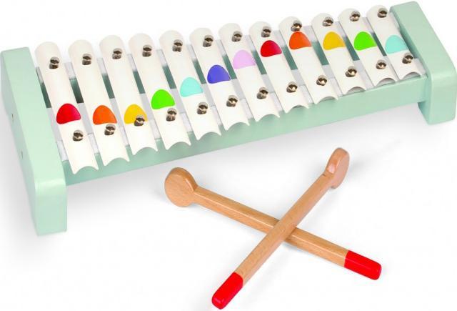 Janod Металлофон (J07604) - музыкальная игрушка (White)