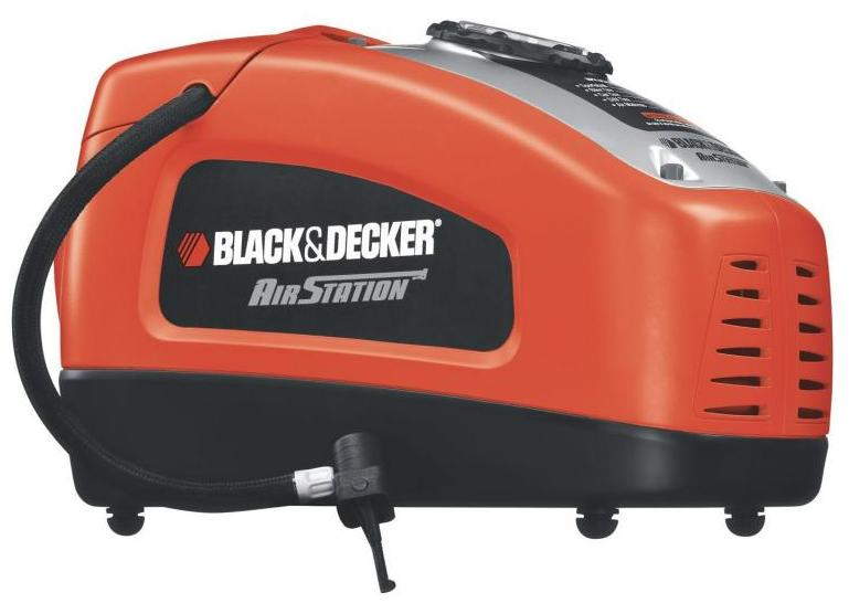 Black+Decker ASI300 - компрессор автомобильный (Red)Автомобильные компрессоры<br>Компрессор автомобильный<br>