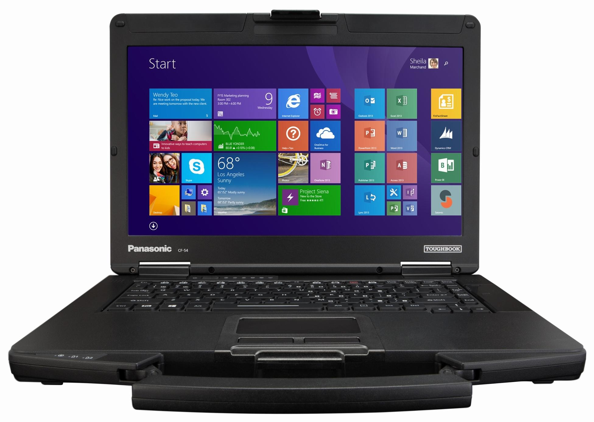 "Защищенный ноутбук Panasonic ToughBook CF-54 14"" Intel Core i5 5300U 2.3Ghz, 4Gb, 500Gb HDD 4G (CF-54AZ003E9)"