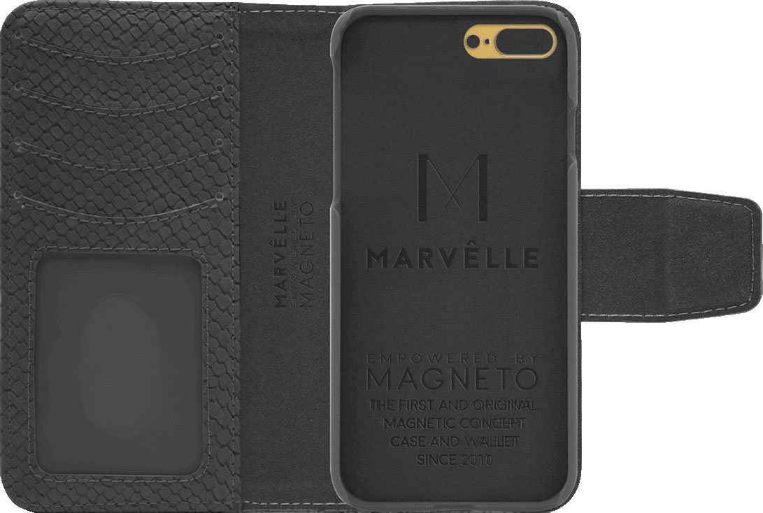 Чехол Marvelle N°301 для iPhone 7 Plus/8 Plus (Ash Grey Reptile)