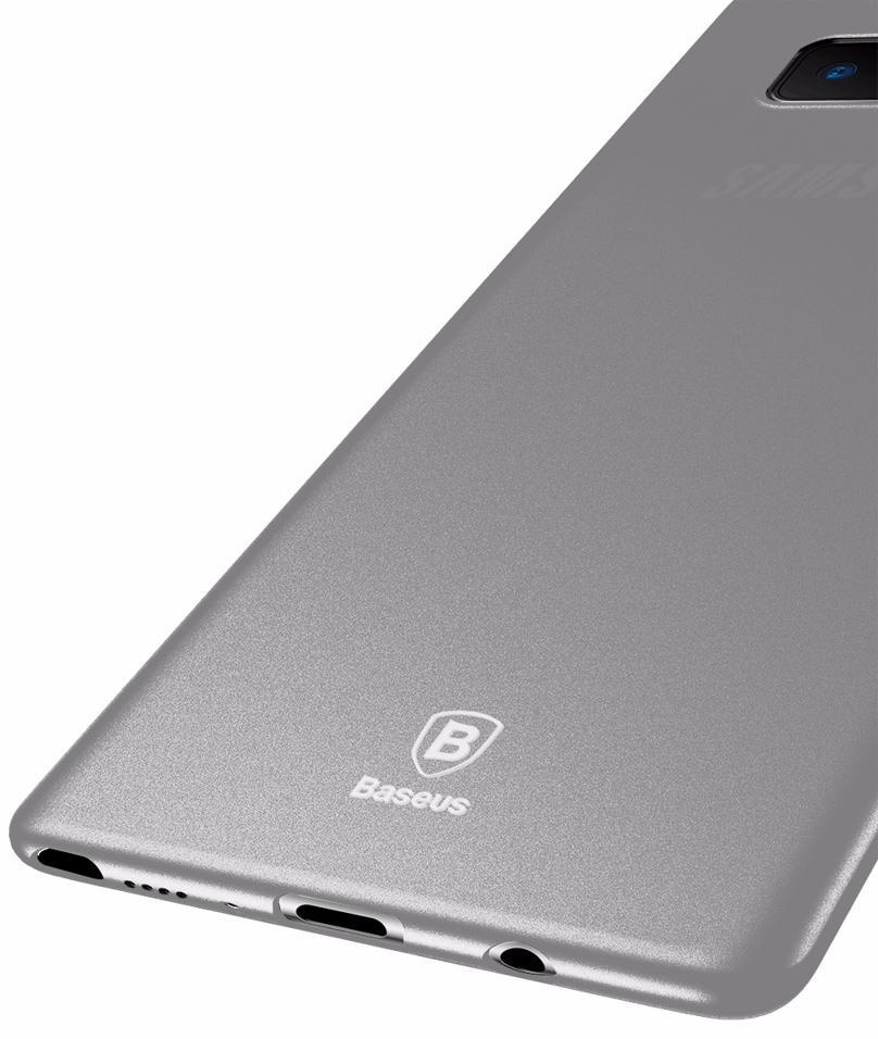 Чехол-накладка Baseus Wing Case (WISANOTE8-02) для Samsung Galaxy Note 8 (Transparent White)