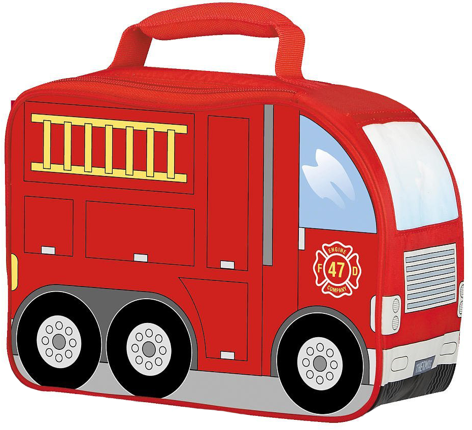 Thermos Firetruck (889218) - детская термосумка (Red) от iCover