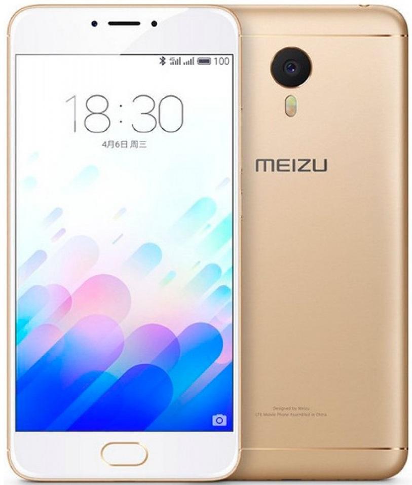 Смартфон Meizu M3 Note 32GB LTE (Gold) от iCover