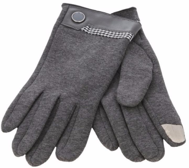 iCasemore Gloves (iCM_but-gray) - кашемировые перчатки (Grey) icasemore gloves icm smp blk кашемировые перчатки black
