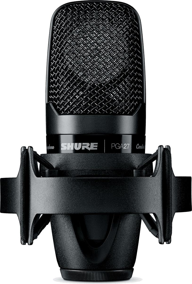 Shure PGA27 (A058936) - конденсаторный микрофон c большой диафрагмой (Black)